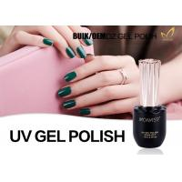 China OEM Bulk 1kg UV LED Gel Nail Polish For UV Lamp Cure Machine No Fade wholesale