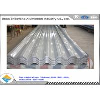 Quality 3003 3004 Corrugated Aluminum Roofing Sheet / Embossed Zinc Aluminum Roofing Sheet for sale