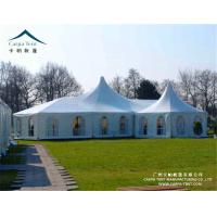 China Wind Resistant Clear Wall Outdoor Event Tents With High Peak Pagoda wholesale