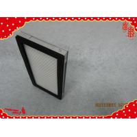 China 305x305x35mm aluminum frame minipleat general ventilation air filters wholesale