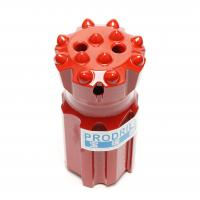 T45-76mm Threaded Button Drill Bits Superior Drilling Performance With 14 Buttons