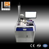 China High Efficient Fiber Laser Marking Machines For Metals Plastic Rubber Wood wholesale