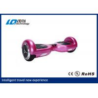 Shiny Metallic Color Self Balancing Unicycle Electric Scooter With Bluetooth Speaker