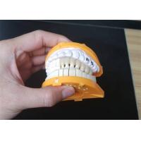 China Lab PFM Porcelain Dental Crown Customized Size For Back / Front Teeth wholesale