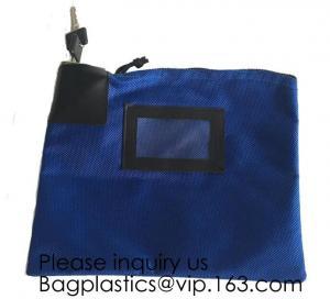 Buy cheap Locking Security Money Bag, Cash Bag,Bank Bag Canvas Keyed Security,Money Bag from wholesalers