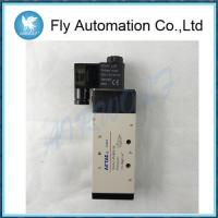 Buy cheap 5/2,5/3 way Airtac Pneumatic Solenoid Valves 4V410-15,4V420-15,4V430C/E/P-15 from wholesalers