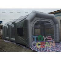 China Gray Inflatable Spray Booth Paint Booth Inflatable Tents For Car wholesale