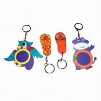 Buy cheap Promotional Keychain, Acrylic/Plastic Materials, Customized Shapes and Sizes and from wholesalers