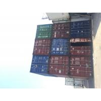 China Steel International Used Storage Container Houses Of 20GP Payload 28000kg wholesale