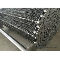 China Fruit Industry Stainless Steel Wire Belt  High Speed Alkali Resisting ISO9001 wholesale
