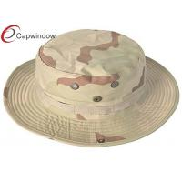 China Desert Sunscreen Camouflage Baseball Hats Fisherman Bucket Hat For Traveller wholesale