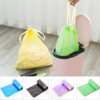 Quality Yellow String Colored Trash Bags , Can Liners Trash Bags Custom Printing for sale