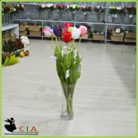 China China Factory Manufacturer Artificial Flower Silk Tulip in Various Colors for Wholesaler on sale