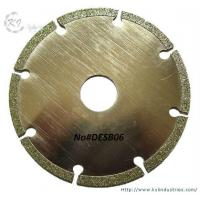 China Electroplated Segmented Saw Blades - DESB06 wholesale