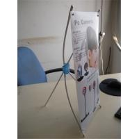 Quality Mini Desktop Portable X Stand Banners ,Tripod Banner Stand 250*420mm for sale