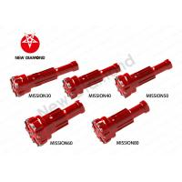 China Geological Exploration Use DTH Tapered Button Bits For Mission Series wholesale