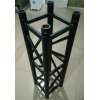 China Black  Aluminum Spigot Stage Truss 300*300*1m Size For Indoor Show And Events wholesale