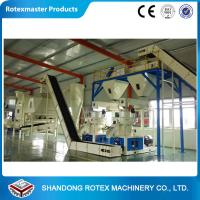 China Customized wood pellet production line , biomass pellet machinery 5 tons per hour wholesale