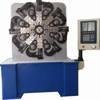 China Versatile 70mm CNC Spring Making Machine With Computerized Cam Rotation System wholesale