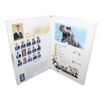 China rechargeable lcd video card for conference activities , 4.3 / 5 / 7inch lcd brochures wholesale