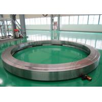 China Hot Rolling Ring Flange Open Die Forging Alloy Steel 42CrMo4 40CrNiMo wholesale