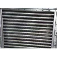 China Copper Finned Aluminum Tube Heat Exchanger Customized Made Dimension wholesale