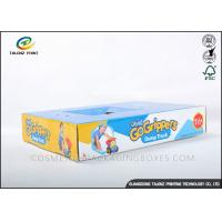 China Recyclable Cardboard Storage Boxes , Corrugated Carton Box For Children Toys wholesale