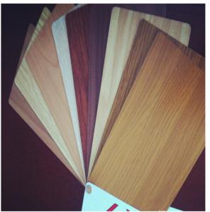 China Antistatic Anti Bacterial 1.5mm Wooden Aluminum Composite Panel wholesale