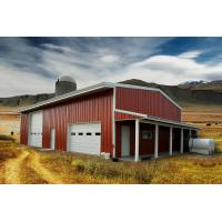 China Residential Agricultural Metal Buildings 30'x50'x14′ Customized Design on sale