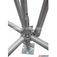 China Galvanized Ringlock Scaffolding System , Pin Lock Scaffold Dia 48.3 X 3mm wholesale