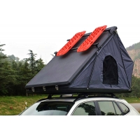 China Family Camping Aluminum Hard Shell Roof Top Tent Safe Pop Up Tent 125cm wholesale