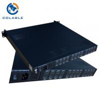 China Max 24 Channel HD To DVB T Encoder Modulator With Multiplexer COL5011U - NH1 on sale