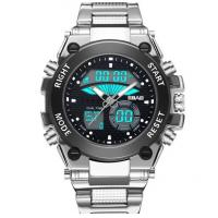 China Wholesale 2017 New Sbao New Men  Dual Time Stainless Steel Waterproof 30m Chronograph Sport Wrist Watch  S-9006 wholesale