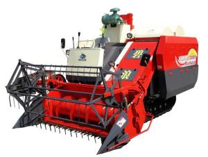 Buy cheap 2M Width 90hp Agriculture Combine Harvester , 2400rpm Wheat Harvestor from wholesalers