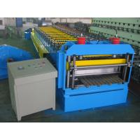 China Automatic Metal Glazed Roof Tile Roll Forming Machine Siemens PLC Control for Mexico Market wholesale