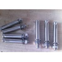 China Iron /  Low Carbon Steel Galvanized Anchor Bolts , Galvanized Structural Bolts wholesale