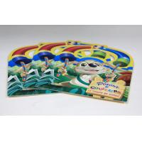 China Walt Disney Saddle Stitch Book Printing Square Brochures With Die Cut wholesale