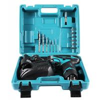 China 12 Volt Power Tools Cordless Drill Tool Set 16 Piece Accesseries Fast Charger wholesale