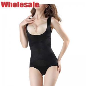 China Customized Black Curvy Open Back Body Shaper For Fat Ladies wholesale