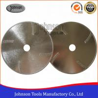 China 105mm - 300mm EP Disc 10 Electroplated Diamond Tools With Protection Teeth on sale