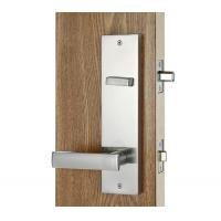 Quality Silver Entry Door Handlesets / Outside Door Handles Adjustable Latch for sale