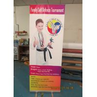 Quality Light Weight Table Top Banners Display Interior Print Automatically for sale