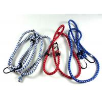 China Motorcycle Retractable Elastic Rope With Hooks / Luggage Strap 80-140cm Length on sale