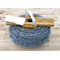 Buy cheap PVC Coated High Tensile Barbed Wire Q195 For Fence Protective Easy To Install from wholesalers