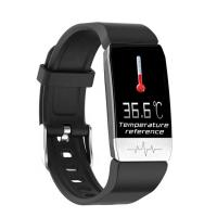 China Android System Temperature Smart Watch 1.14 Inch IPS Color Screen TFT Dispaly wholesale