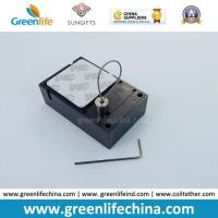 Back Side Cable Outlet Cube Plastic Anti-Theft Retail Display Holder