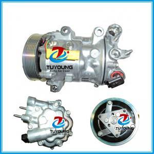 China 6V12 7V16 7C16 car ac compressor for CITROEN C5 C6 PEUGEOT 407 508 607 1807 1803F 1849 1333F 6453TA 6453XE 9800840380 96 on sale