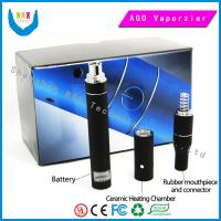 China Lcd 600 Puffs Ago Dry Herb Vaporizer 650mah  Healthy E Cigarettes wholesale