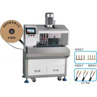 Buy cheap SPT Wire Stripping Vase Terminal Crimping Machine , Fully Automatic Wire Crimping Machine from wholesalers