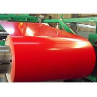 China Trade Assurance PPGI Ral 9012 Color Steel Coil / Hot Dipped Galvanized Steel Coil on sale